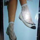 Нарядные ажурные носки для Золушки
