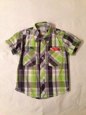 Рубашка Pingu на 4-5 лет. Италия. Стильная рубашка для мальчика.