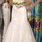 Продам красивое, супер удобное свадебное платье. Размер S, M.