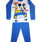 Суперские пижамки для детей с героями Диснея, хлопок, отличное качество