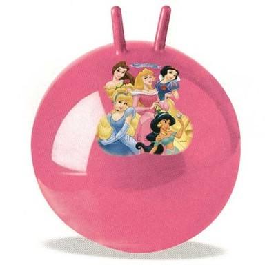 Фитбол гимнастический мяч с рожками надувной, 45 см. Цвета