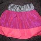 красивая яркая модная юбка с фатином, на 5-6 лет, Молния