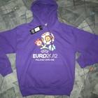 Толстовка EURO 2012 фиолетовая мужская.Арт. 563413