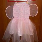 Новогоднее платье Бабочка для девочки 3-4 года, 98-104 см