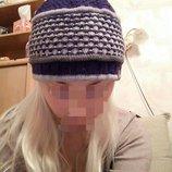 теплая шерстяная шапочка SmartWool. супер теплая