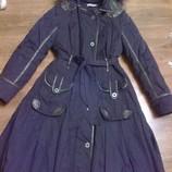 Пальто плащ платье деми S,эксклюзив Cacharel