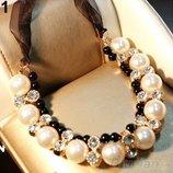 Ожерелья на ленте