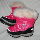 утепленные деми-ботинки для девочек от Topolino -розовые
