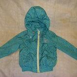 Аккуратные деми куртки - ветровки Тополино на рост 80-98 см