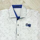 Рубашки для мальчиков Blueland с коротким рукавом