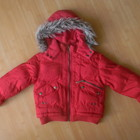 куртка Banana зимняя на девочку 5-6 лет б/у обмен