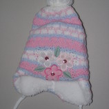 Зимняя шапка для девочки Польша