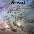 Одеяла с шелком все размеры и подушки с бамбуком или шелком в чехле сатин-жаккард Aonasi