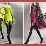 Шикарные колготки имитация чулок 3-М, 4-L Gatta лимитированная серия