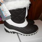 зимние ботинки Сноубутсы Для Девочки -КОРИЧНЕВЫЕ