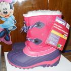 розовые сноубутсы для девочек -Италия