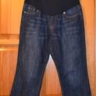 Новые джинсовые штаны, капри для беременных размер 12 на М