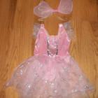 Новогоднее платье Бабочка для девочки 2-2,5 года, 92-96 см.