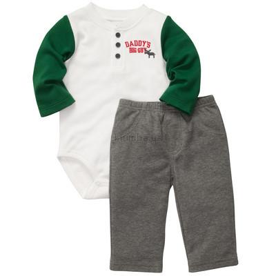 Американская детская одежда 9М, 12М, 18М Carters Костюмчик боди со штанишками олень