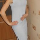 Платье светло голубое легкое р.46-48