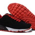 Кроссовки Nike Air Max 90 VT Tweed - черно-красные