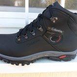 Мужские зимние ботинки Columbia из натуральной кожи, р. 40-45, код si-3254
