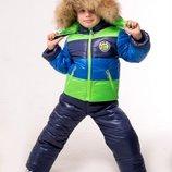 Зимний комбинезон для мальчика Джон куртка полукомбинезон