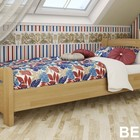 Кровать Венеция из бука одноместная и двухместная