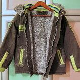 Демисезонная куртка 110 р, мальчику 5-6 лет