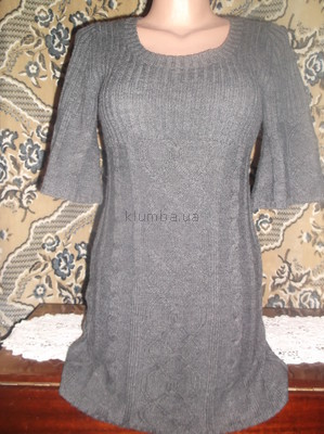 Теплое вязаное платье 42/44 Pink Republic