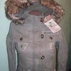 Стильная подростковая куртка осень-зима от Hikis. Размер 140.