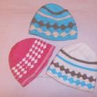 Шапки шарфы комплекты на девочку 7-10 лет