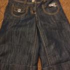 Продам класснючие джинсовые шорты капри Next на 10-13 лет