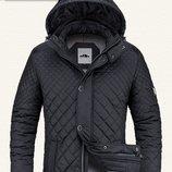 мужская cтеганная демисезонная куртка,размер L 50