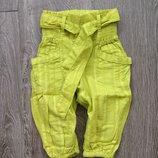 Стильные штаны Next на 3-4-5 лет. Летние штанишки, бриджи, капри, джинсы