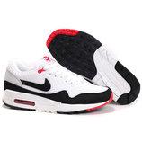 Кроссовки Nike Air Max 87 EM - бело-черные