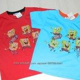 Распродажа футболки на мальчиков 3-7 лет. Спанч Боб.