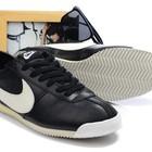 Кроссовки Nike Cortez New Style - черно-белые
