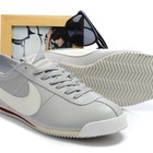 Кроссовки Nike Cortez New Style - серо-белые