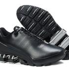 Кроссовки Adidas Porsche Design IV кожа - черно-белые