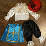 Карнавальный костюм Мушкетера 4-7 лет. 2 варианта