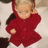 винтажная кукла Ernst Wehncke Германия оригинал клеймо 36 см