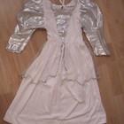 Платье карнавальное белое 4-7лет
