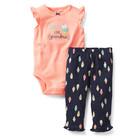 Американская детская одежда Carters Комплект боди со штанишками мороженое, puppy0000126
