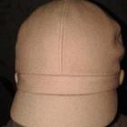 Кепи шестиклиночка шерстяная с подкладочкой, размер 54-55