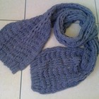 великий вязаний шарф.