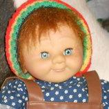 Коллекционная авторская кукла Бригитты Леман Эльфик Wunsche Wichtel Zapf Creation Германия оригинал