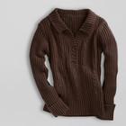 Новый свитер толстый теплый коричневый TCM TCHIBO 52р