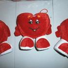 сердце маленькое на ножке к Дню святого Валентина