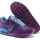 Женские кроссовки Nike Air Max 90 GL - сиреневые голубой